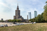 Warsaw, Poland. City center with Palace of Culture and Science - 197942850