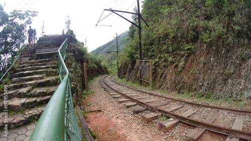 In de dag Spoorlijn Estrada de Ferro 01
