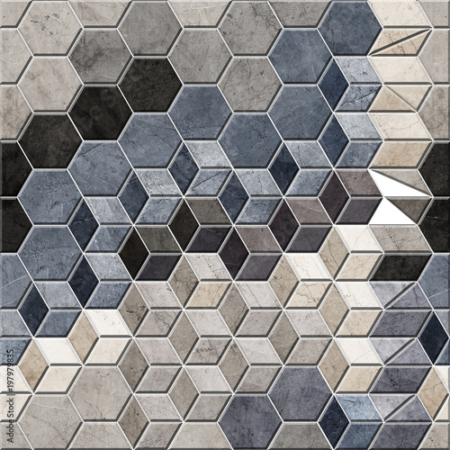 background for wall tiles, texture - 197979835