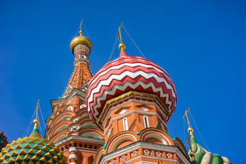 Saint Basil's Cathedral in Spring