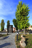 Historical Old Town quarter of Rzeszow, Poland - Cichociemnych park and square
