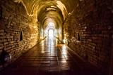 Ancient tunnel , Buddhist temple tunnel  Thailand
