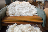 raw cotton for vintage spinning machine