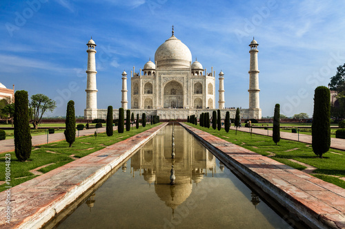 Foto Murales Taj Mahal mausoleum, Agra, India