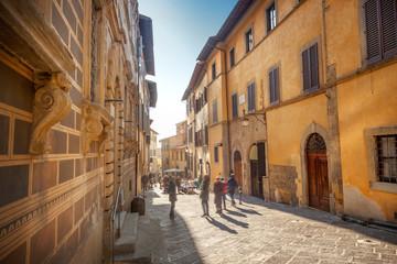Street in Arezzo, Italy