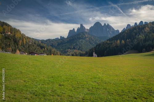 Val di Funes sud tirolo Alto Adige Italy Santa Maddalena