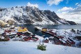 Lofoten Islands in winter, Norway