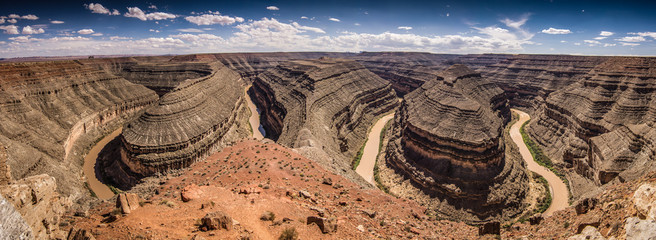 Goosenecks state park, mexican hat - Utah - USA