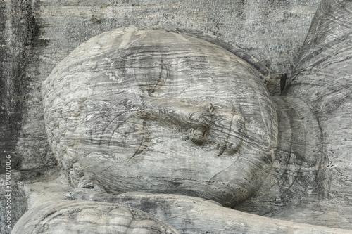 Fotobehang Overige buddha at Gal Vihara