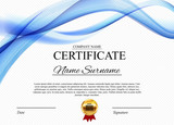 Certificate template Background. Award diploma design blank. Vector Illustration - 198100436