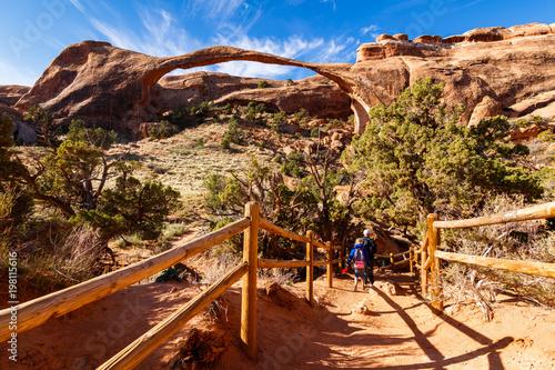 Plexiglas Bruin Arches National Park