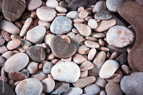 Background of pebbles. Pebbles textures