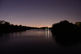 Rivervale - view over Swan River by night