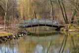 Beautiful bridges for pedestrians in the park