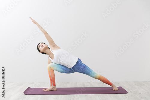 Foto op Plexiglas School de yoga ヨガのインストラクター