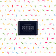 colorful memphis confetti style pattern background - 198177260