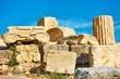 Ruins of ancient column