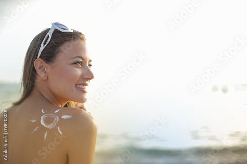 Sun protection at the beach