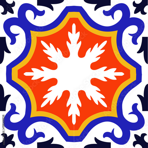 ornament wektor wzór element graficzny ilustracja mozaika, kwiat kwiatowy dekoracja