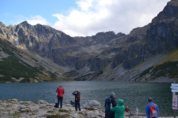Tatras Mountains, view of the Orla Perc and Black Pond © Ewa