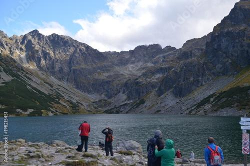 Tatras Mountains, view of the Orla Perc and Black Pond © Ewa