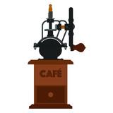 Molinillo antiguo de cafe