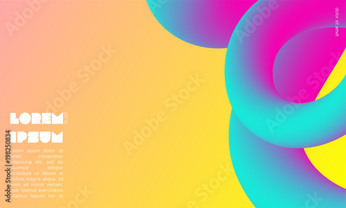 Colorful abstract background with place for text. Abstract blending liquid color. Applicable for brochures, flyers, banners, covers, notebooks, business cards, posters and backdrops © Galina Timofeeva