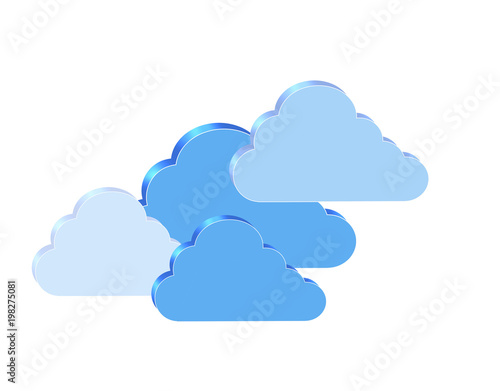 Chmura cloud computing prognoza pogody chmura danych informacji komunikacji