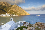 View of Agia Marina church and  Kamares village.  - 198303828