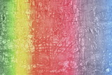 beautiful plaster wall multicolored