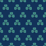 seamless leaf pattern - 198332465