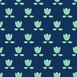seamless flower pattern - 198332478
