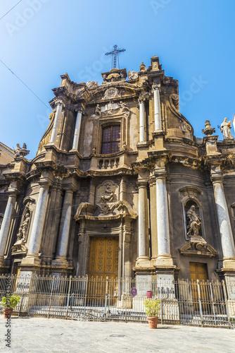 Fotobehang Palermo Church of Santa Anna in Palermo in Sicily, Italy