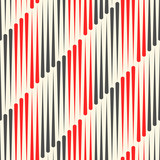 Abstract Plaid Texture. Seamless Fabric Wallpaper. - 198354018