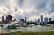 Buckingham fountain in Grant Park, Chicago