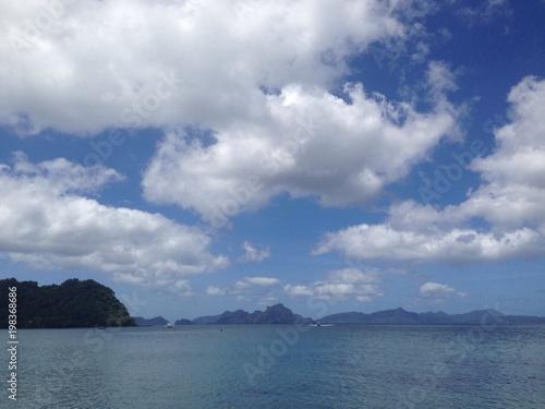 panoramic view of Boracay, Philippines