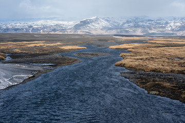 Icelandic  landscape, from different locations, Iceland.