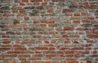 loft old weathered bricks wall, background, texture