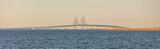 Panorama of Offshore Wind Turbines near Copenhagen, Denmark