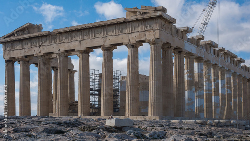 Keuken foto achterwand Athene Amazing view of The Parthenon in the Acropolis of Athens, Attica, Greece