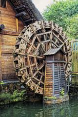 Waterwheel at the Nan Lian Garden, Hong Kong