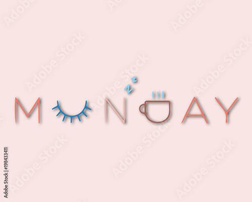 Conceptual lettering Monday