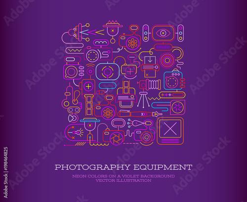 Plexiglas Abstractie Art Photography Equipment