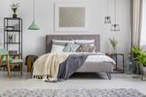 Bright interior with pastel mint decor