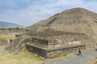 Teotihuacan Pyramids near Mexico City in Mexico