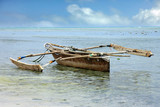 Traditional fishing boat on the ocean - 198473443