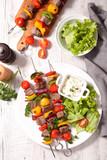 skewer barbecue, beef - 198473845