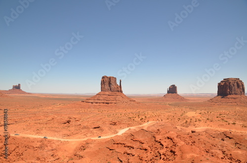 Foto op Canvas Arizona MONUMENT VALLEY (Arizona,Utah) USA