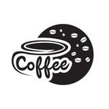 vector coffee logo