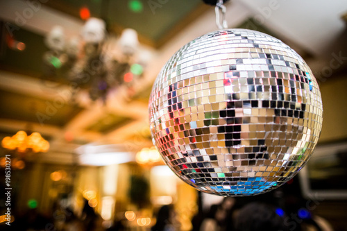 Disco Ball at Reception - 198530271